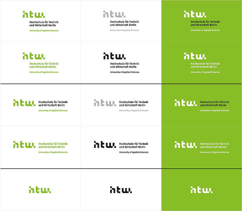 Die Varianten der Bild-Wort-Marke im Überblick
